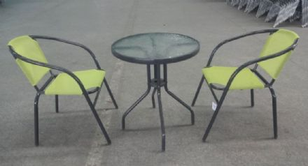 SupaGarden Bistro Stacking Set - Lime Green